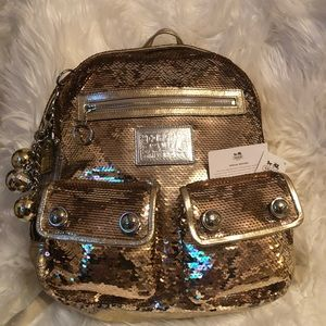 Coach Limited Edition Sequined Backpack